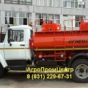 Автотопливозаправщик АТЗ бензовоз объем 4,9 куб. м. 1 секция на шасси ГАЗ-3309 в наличии, фотография 1