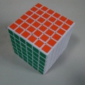 Кубик рубика Shengshou 6x6 white cube speed edition