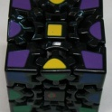 Кубик рубика шарнирный gear cube black