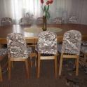 обеденный стол и 12 стульев