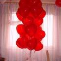 Шары-сердца на 14 февраля в Алматы. Подарок на 14 февраля. ЦП «МаКо»