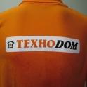 Нанесение логотипа на футболку, рубашку, толстовку (шелкография)