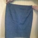 Продам деловую серую юбку