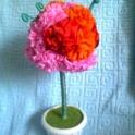 Топиарии и букеты цветов ручной работы