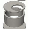 Железобетонные кольца канализационные