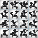 Baby Jogger City Select Double для погодок