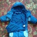 Продам детский комбинезон трансформер осень-зима