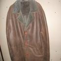 Дубленка мужская, натуральная, 56 размер, цвет коричневый, облегченная, внешний вид отличный.