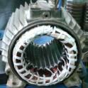 Ремонт и перемотка промышленных электродвигателей в Алматы.