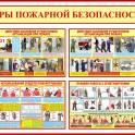 Пожарные плакаты