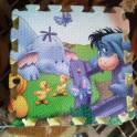 Безопасный комфортный детский коврик-пазл двухсторонний., фотография 5