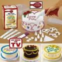 Наборы для украшения торта в контейнере 43053.