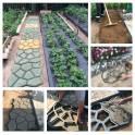 Формы для изготовления садовых тропинок