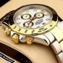 Продам позолоченные часы Rolex Daytona, фотография 5