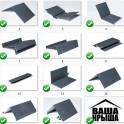 Доборные элементы для крыши и кровли
