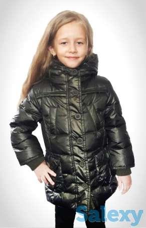 Куртка - пуховик новая для девочки 2-12 лет Италия, фотография 5