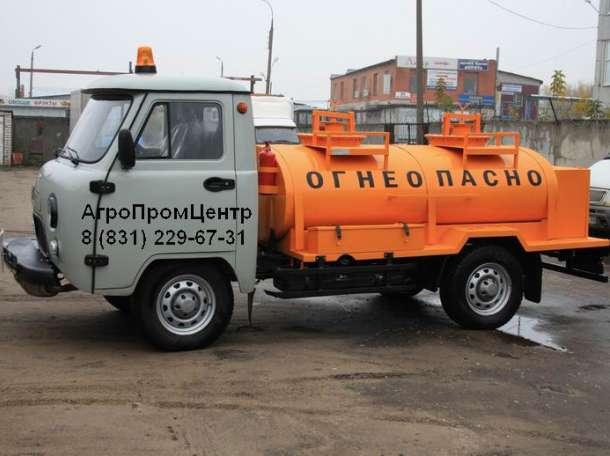 Бензовоз АТЗ на базе УАЗ на 1500 литров, фотография 4