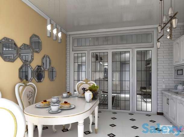 дизайн интерьера квартир, кафе, бутиков, офисов, фотография 7