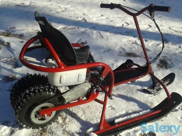 Снего-Кат моторный новый, фотография 3