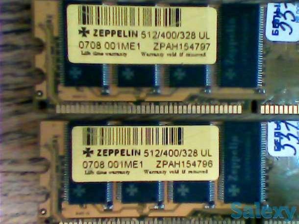 Планки памяти DDR1 б/у на 256 и 512 Mb, фотография 4