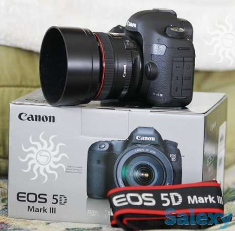 продается Canon EOS 5D Mark III с объективом EF 24-105mm IS, фотография 1