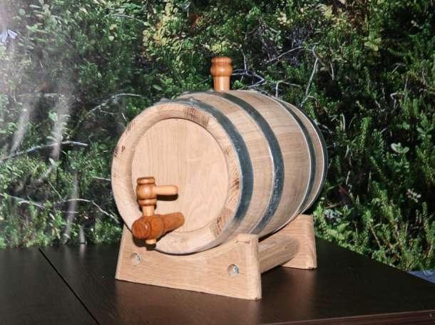 Бочонок дубовый на 5 литров для коньяка, виски, самогона. , фотография 2