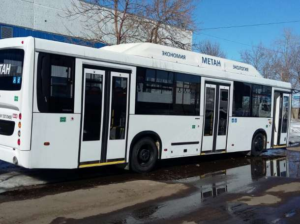 Автобус  НЕФАЗгородской на метане, фотография 5
