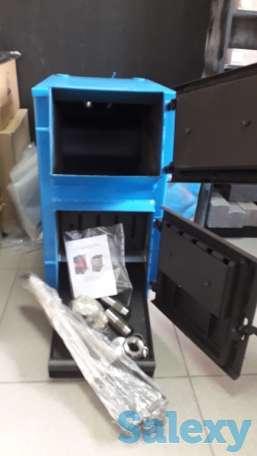 WIRT Classic 20 кВт (до 200 кв.м)– универсальный котел длительного горения. Комплектуется термометром и регулятором тяги, фотография 6