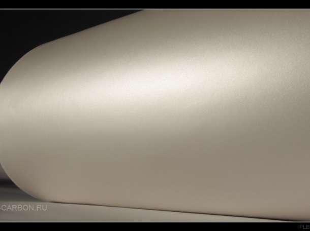 Виниловая пленка белый матовый хром, перламутр, фотография 3