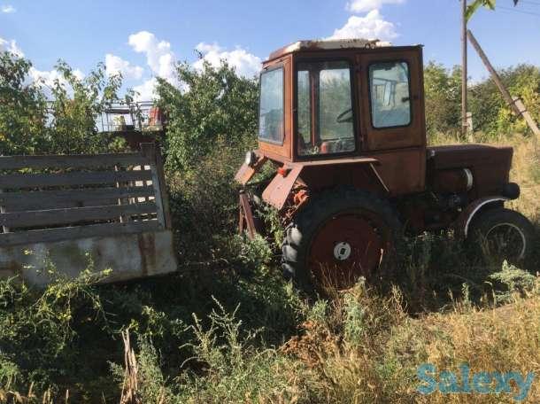 Трактор Т-25 с одноосным прицепом, фотография 3