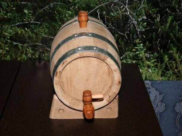 Бочонок дубовый на 5 литров для коньяка, виски, самогона. , фотография 3