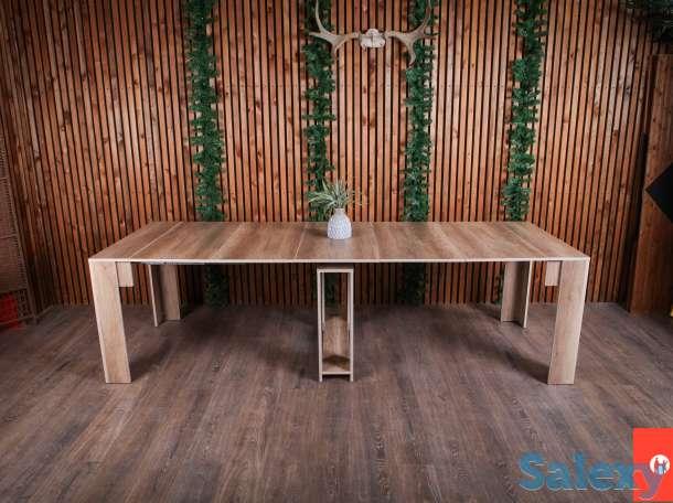 консольный раскладной стол трансформер, фотография 1