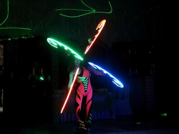 Лазерное шоу, фотография 2
