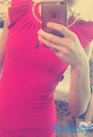 Продам платье за 5000. Цвет красный., фотография 1