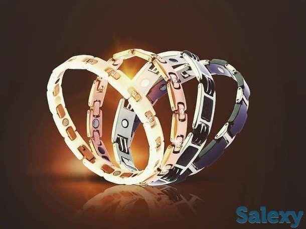 Титановые магнитные браслеты, фотография 1