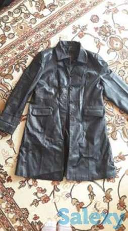 Продам женский кожаный плащ  7f14f9402ea22