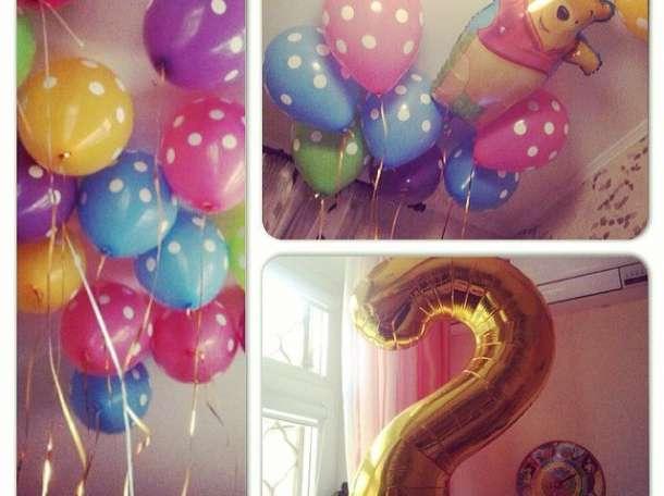 Гелиевые шарики, воздушные шары, фотография 4
