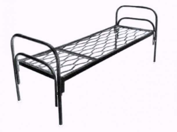 Кровати одноярусные для бытовок, кровати двухъярусные для детских лагерей, кровати для пансионатов., фотография 3