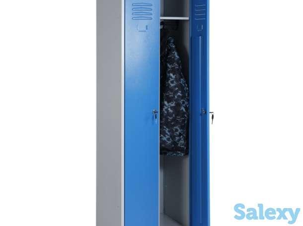 Шкаф для одежды металлический, фотография 2