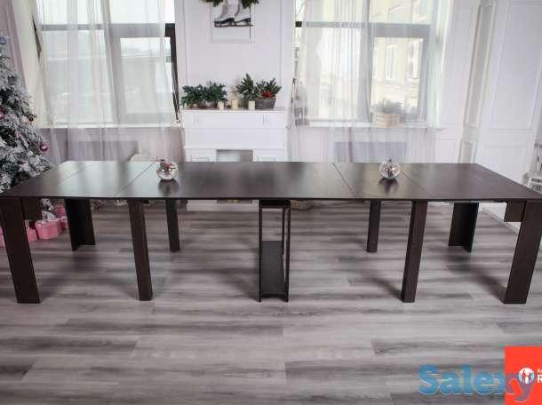 консольный раскладной стол, фотография 4