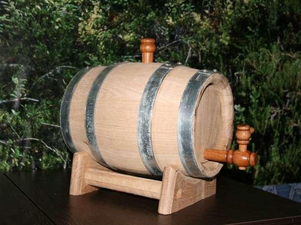 Бочонок дубовый на 5 литров для коньяка, виски, самогона. , фотография 4