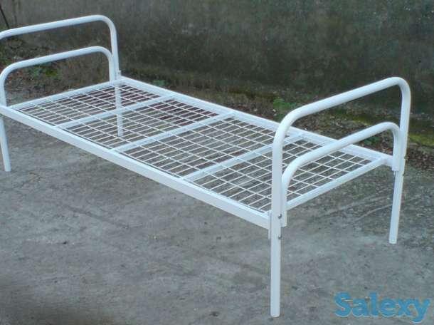 Металлические кровати эконом класса, двухъярусные кровати, фотография 4