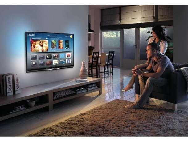 Профессиональная навеска телевизоров на стену, фотография 2