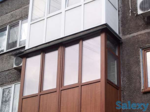 Утепление, остекление балконов и лоджий Шымкент, фотография 4