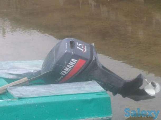 Лодка с мотором, фотография 1