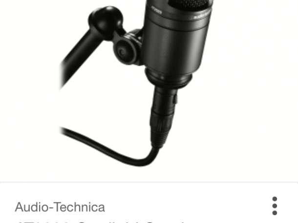 Микрофон, звуковая карта, стойка, щит звукоизоляции, фотография 3
