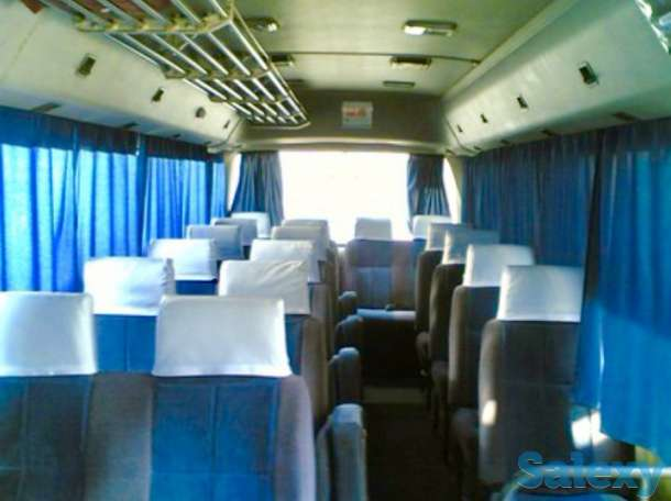 Аренда автобуса Mitsubishi Rosa 28 мест 4 WD, фотография 2