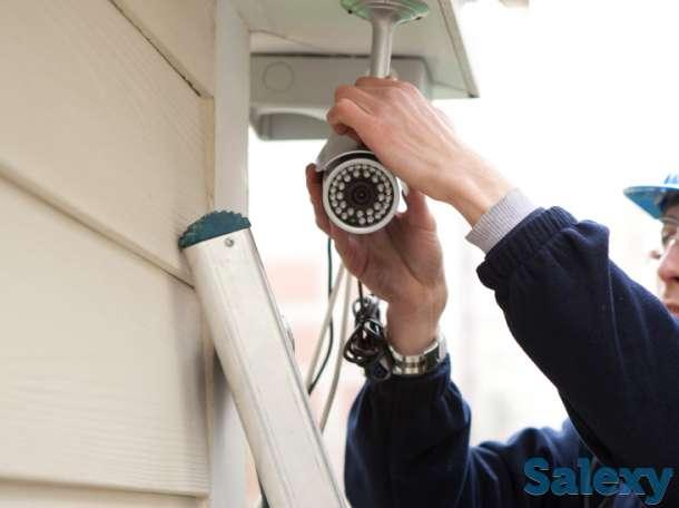 Установка камер видеонаблюдения в Алматы, фотография 2
