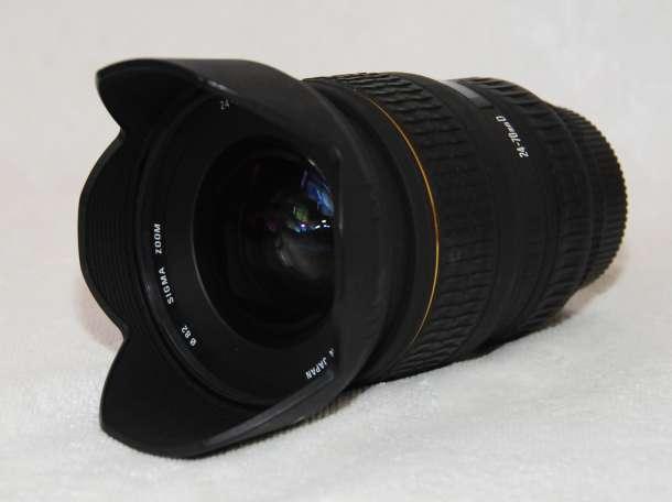 Объктив для Nikon , Sigma 24-70 /f 1:2,8 DG EX ASPHERIAL , фотография 2