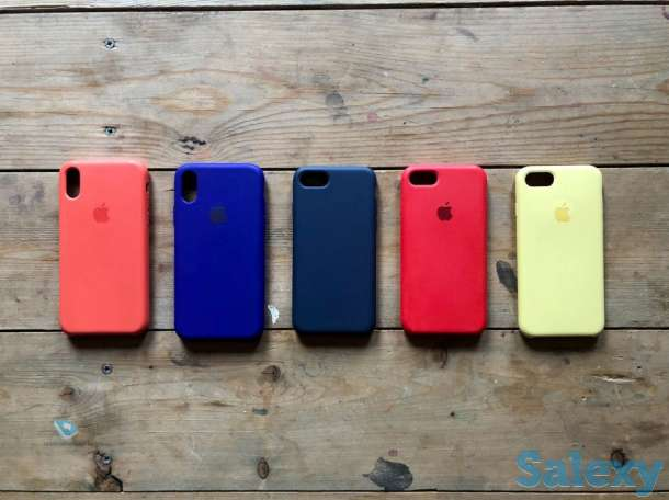 Apple Silicone Case чехол для iPhone
